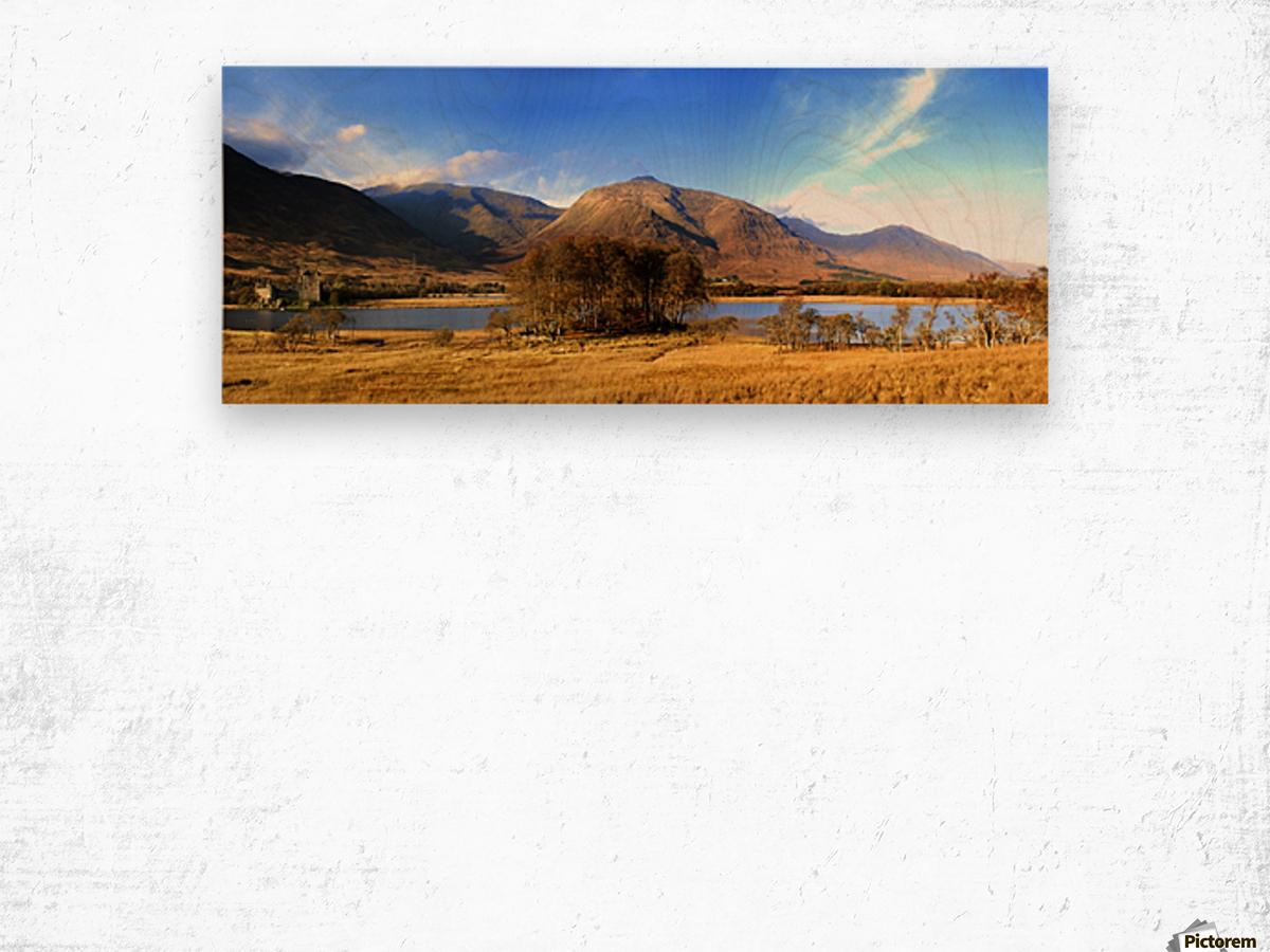 Kilchurn Castle, Loch Awe, Scotland Wood print