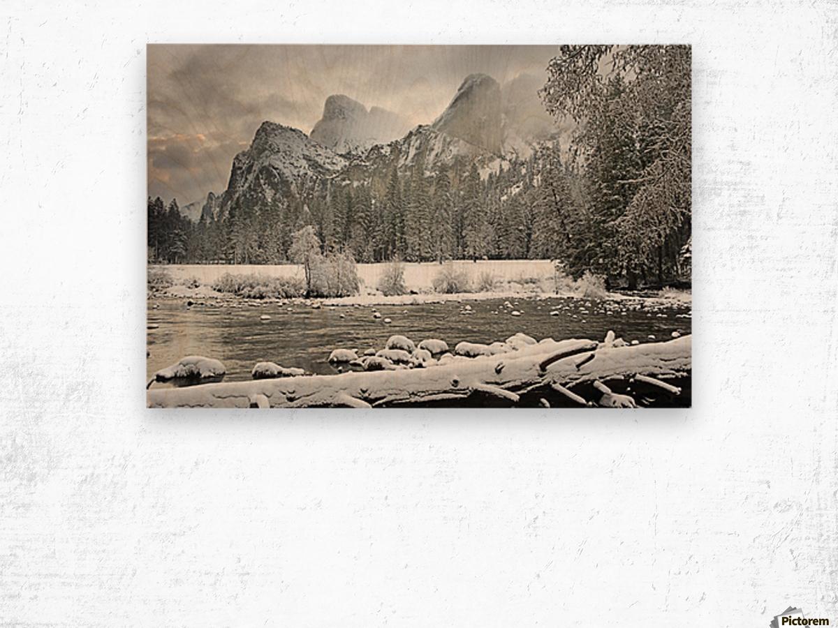 Yosemite National Park, California, Usa Wood print