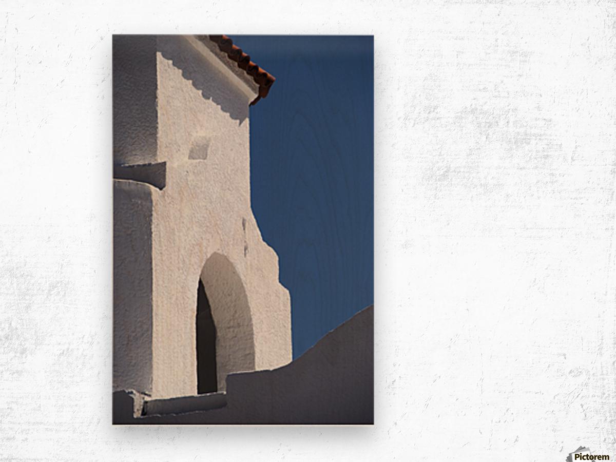 Church Bell Tower; Chacras De Coria, Mendoza, Argentina Wood print