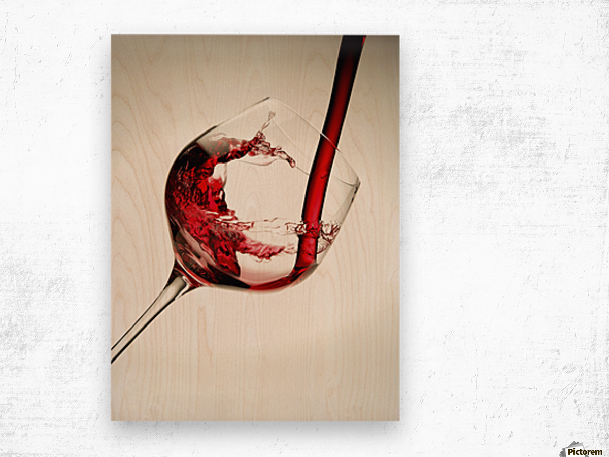 red wine pouring into a glass pacificstock canvas