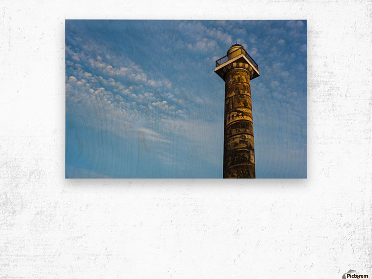 Astoria Column; Astoria, Oregon, United States of America Wood print