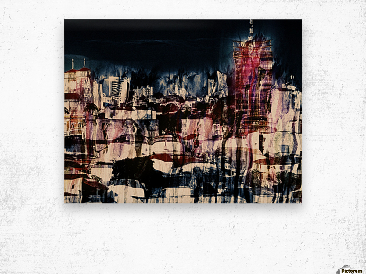 Cityscape Serie Wood print