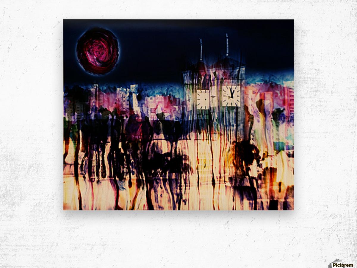 Cityscape Serie Wood print
