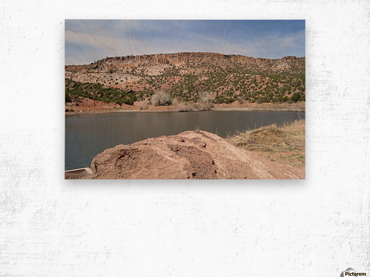 Jemez Mountains VP9 Wood print
