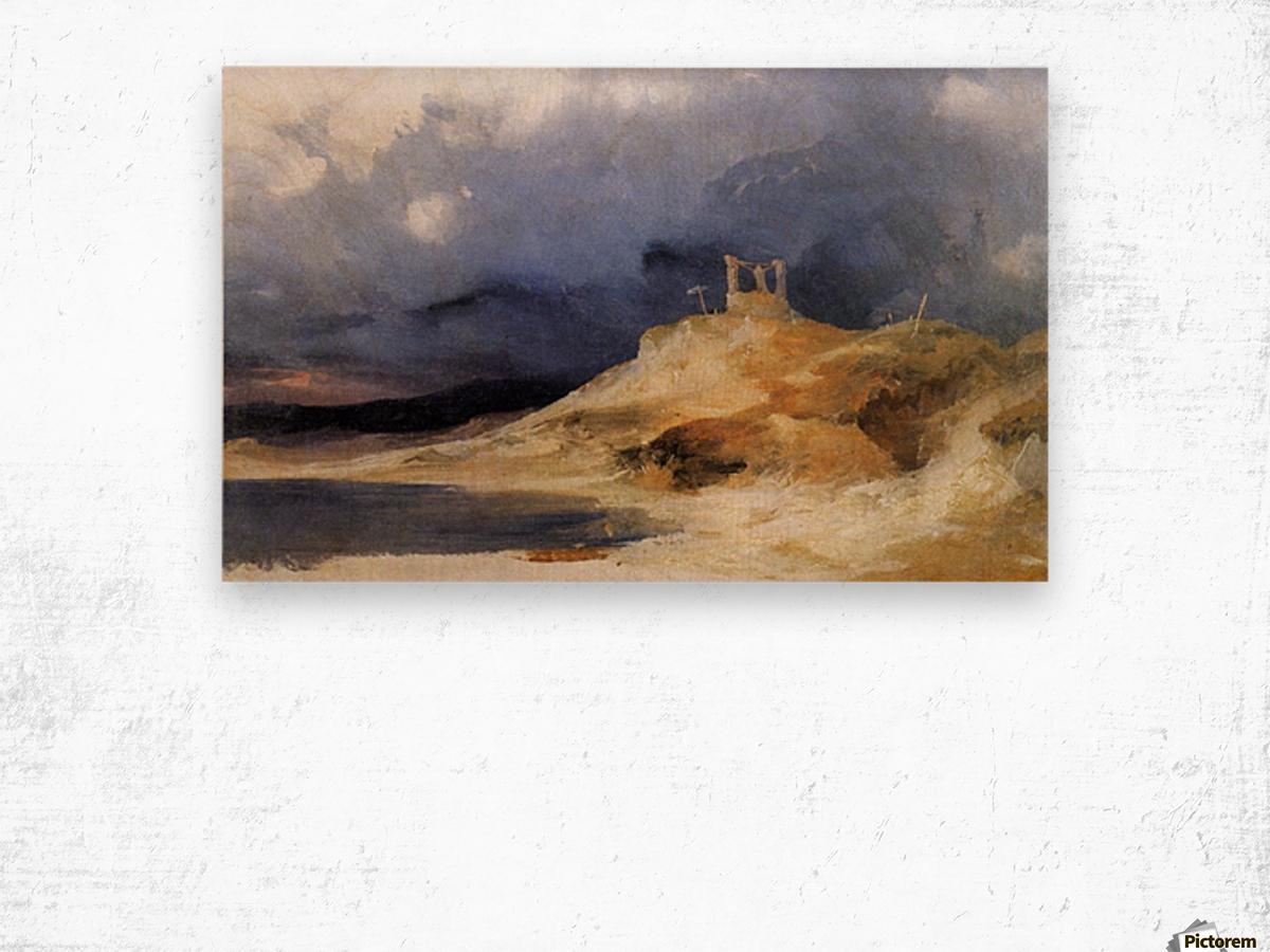 Galgenberg bei Gewitterstimmung Impression sur bois