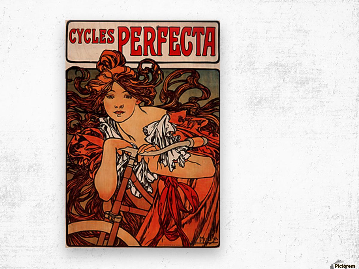 Cycles Perfecta, 1902 Wood print