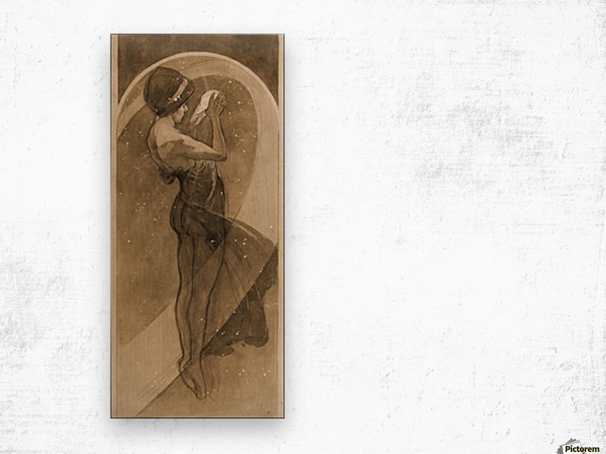 """Art Nouveau Alphonse Mucha Spring 1896 20/""""x40/"""" CANVAS ART Alfons"""
