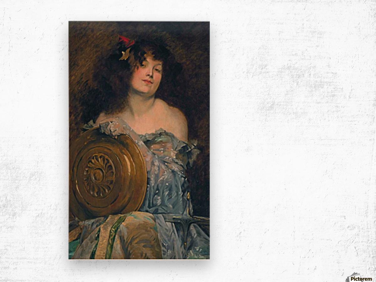 Salome Wood print