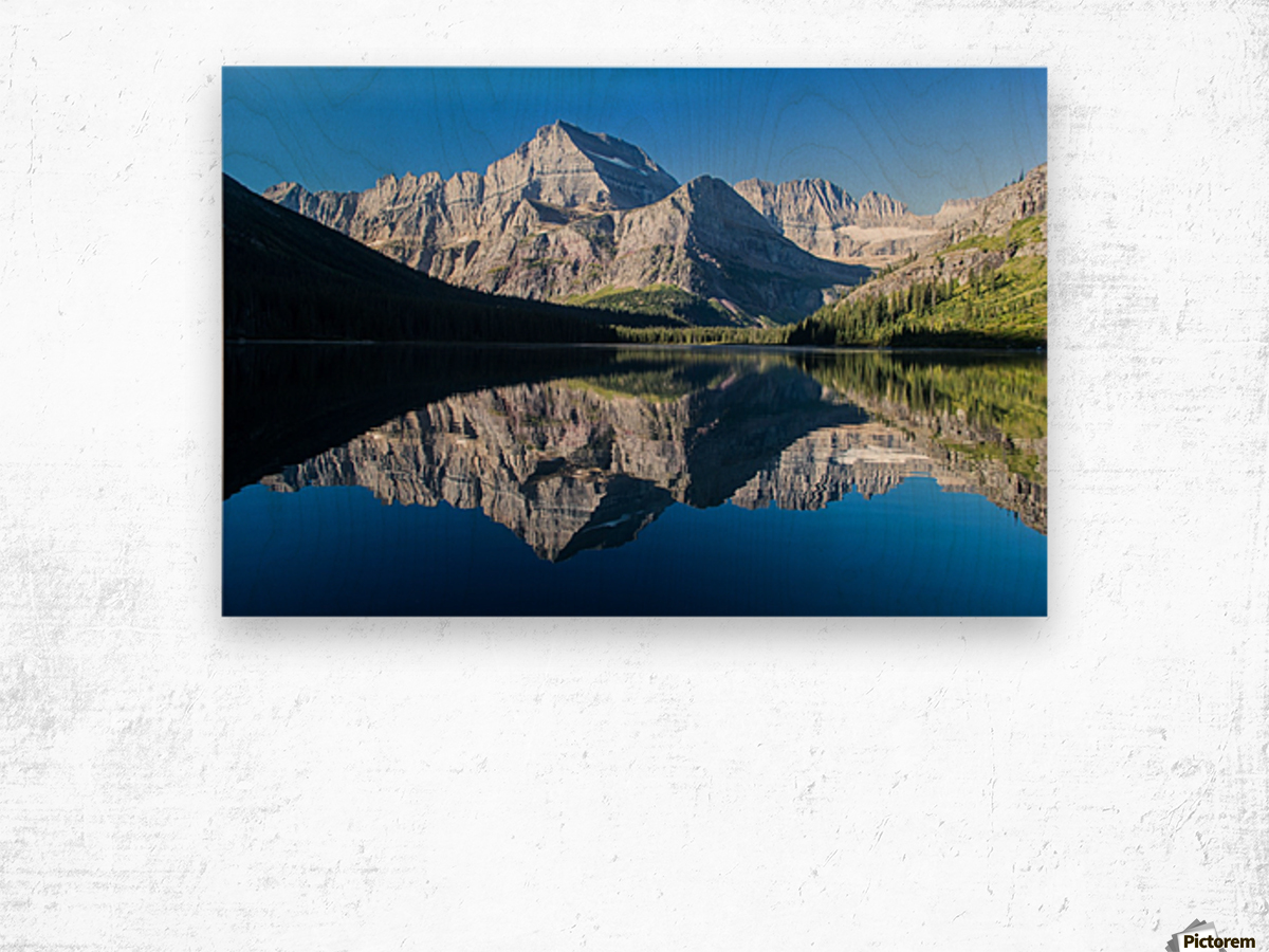 Josephine Lake Wood print