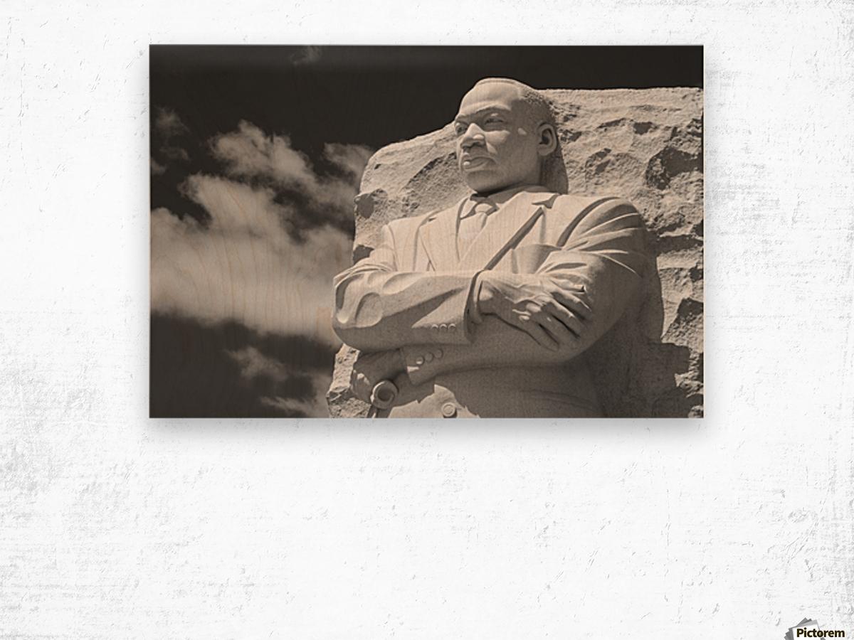 Thank You Dr. King Wood print
