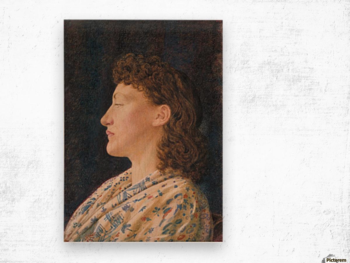 A Girl's Portrait Wood print