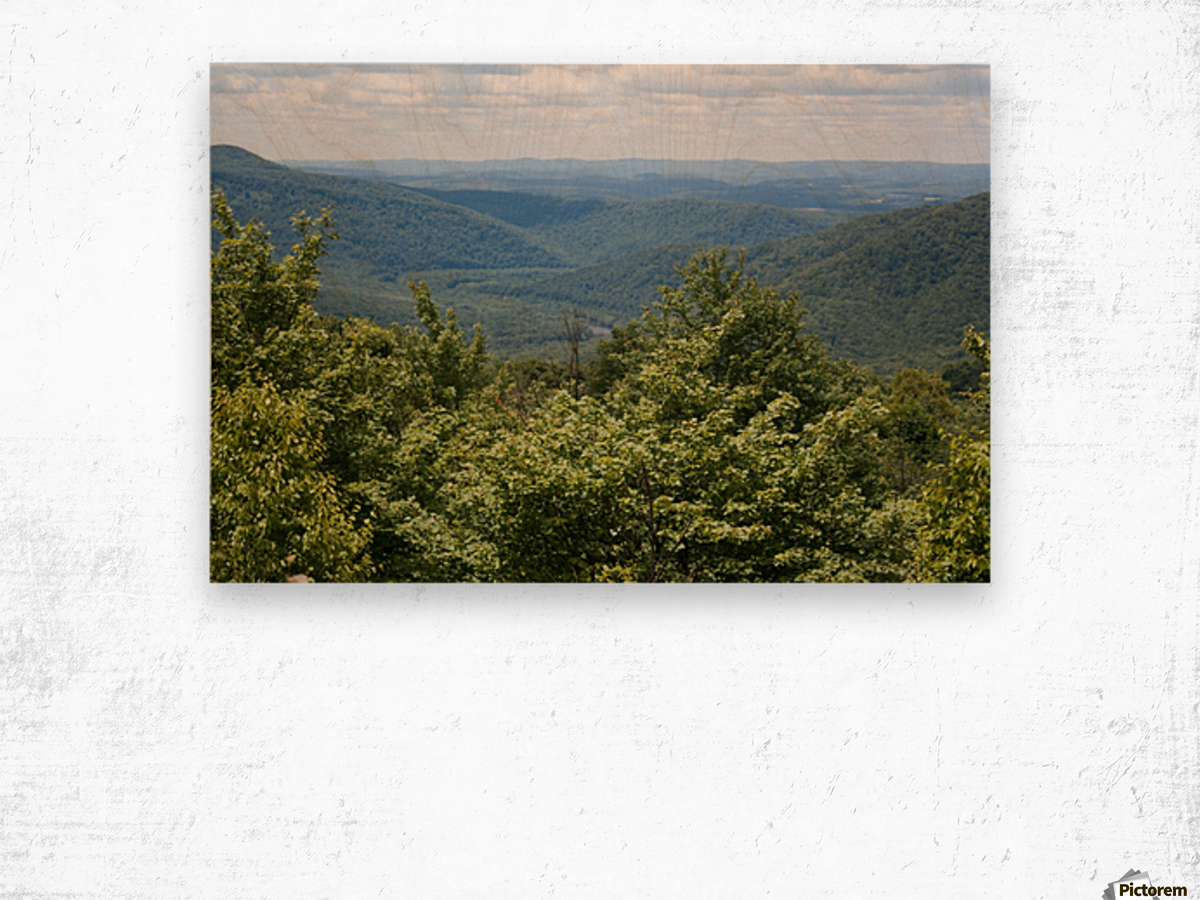 River Valley Wood print