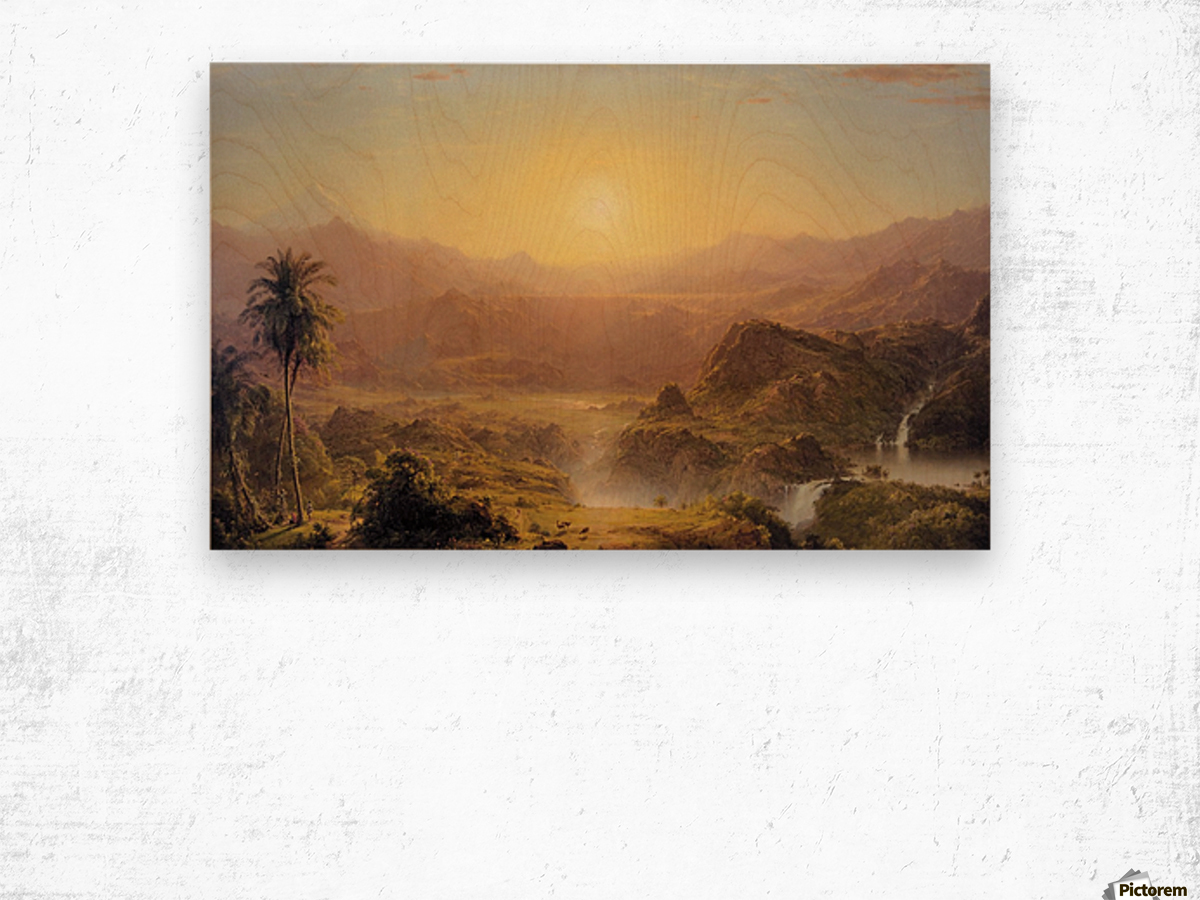 The Andes of Ecuador Wood print