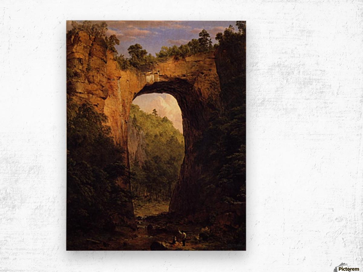 The Natural Bridge, Virginia Wood print