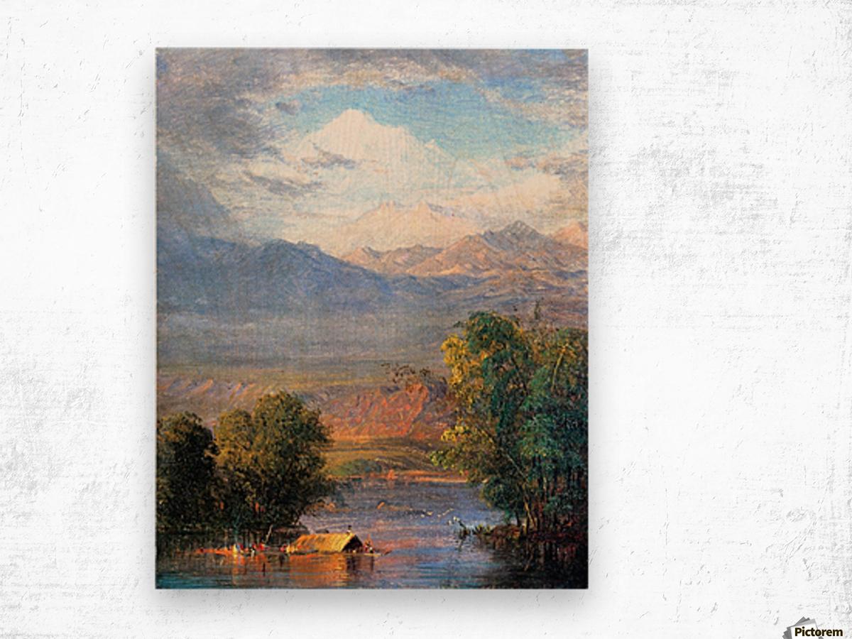 The Magdalena River Equador Wood print