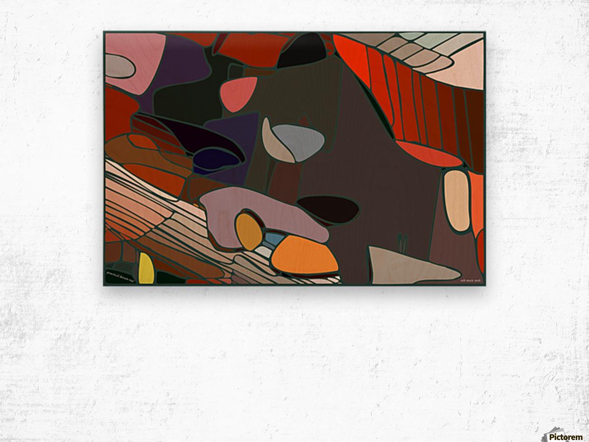 practical dream 47 Wood print