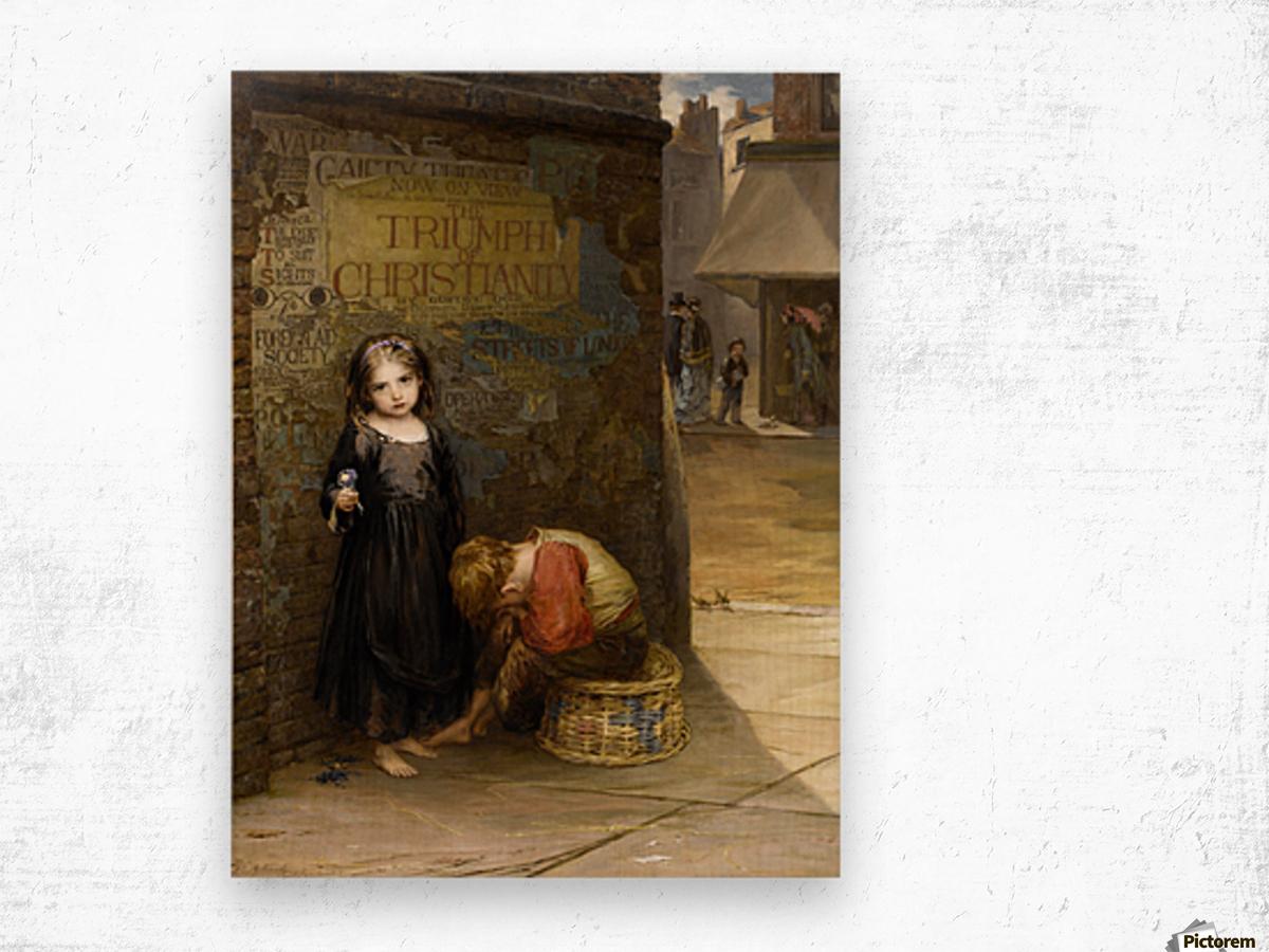 Uncared for 1871 Impression sur bois