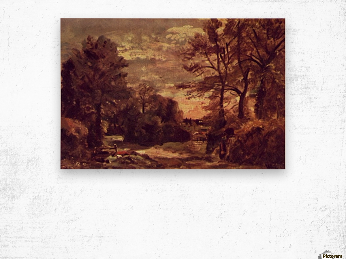 Country Road 1926 Wood print