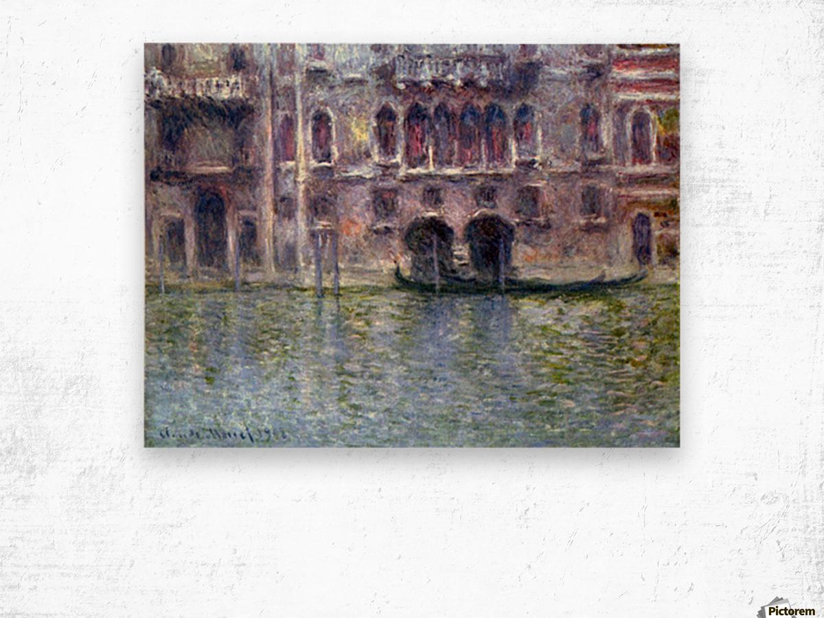Palazzo da Mula, Venice by Monet Wood print