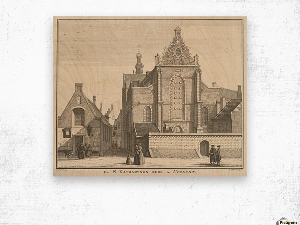Katharynen Kerk Wood print