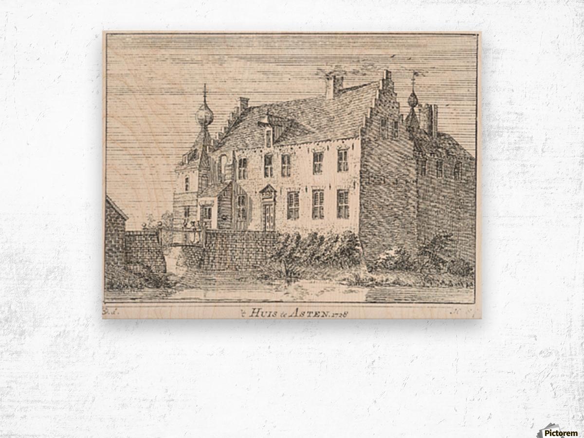 Huis te Asten Wood print