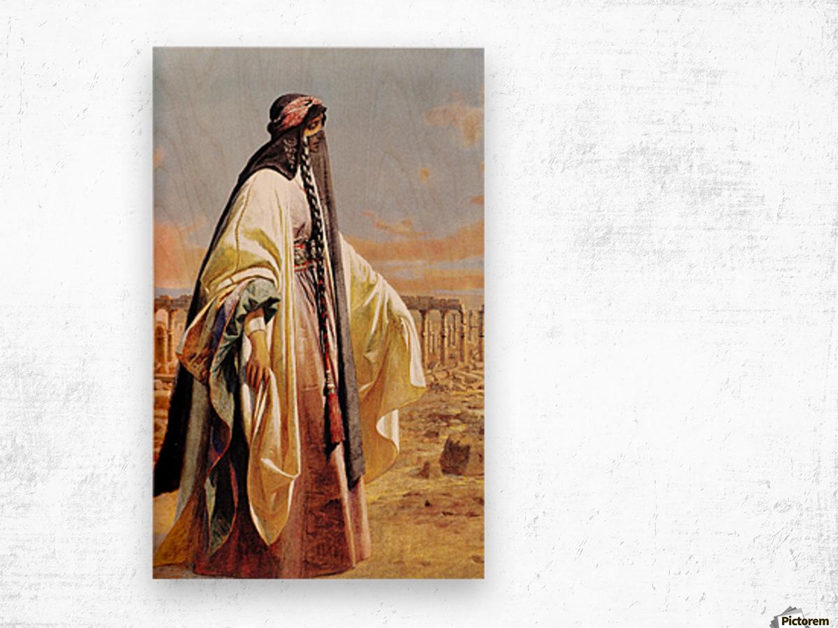 Jane Digby In Palmyra 1859 Wood print