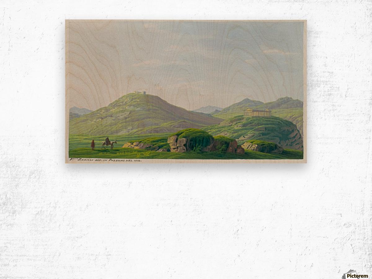 Segesta 1828 Wood print