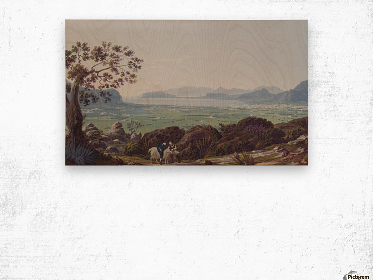 Palermo 1793 Wood print