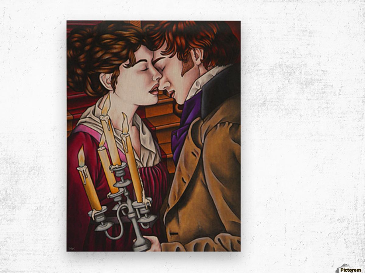 Eternal love Wood print
