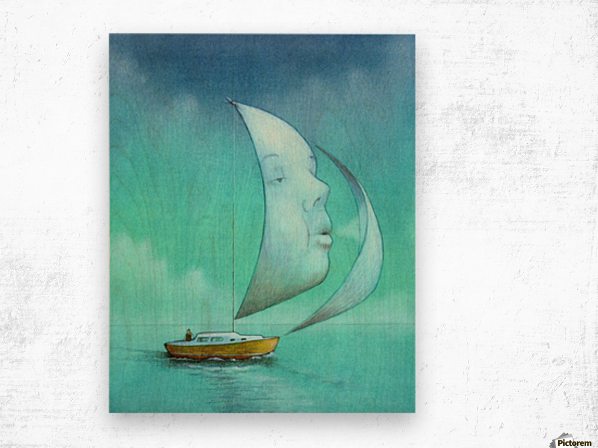 soul  Wood print