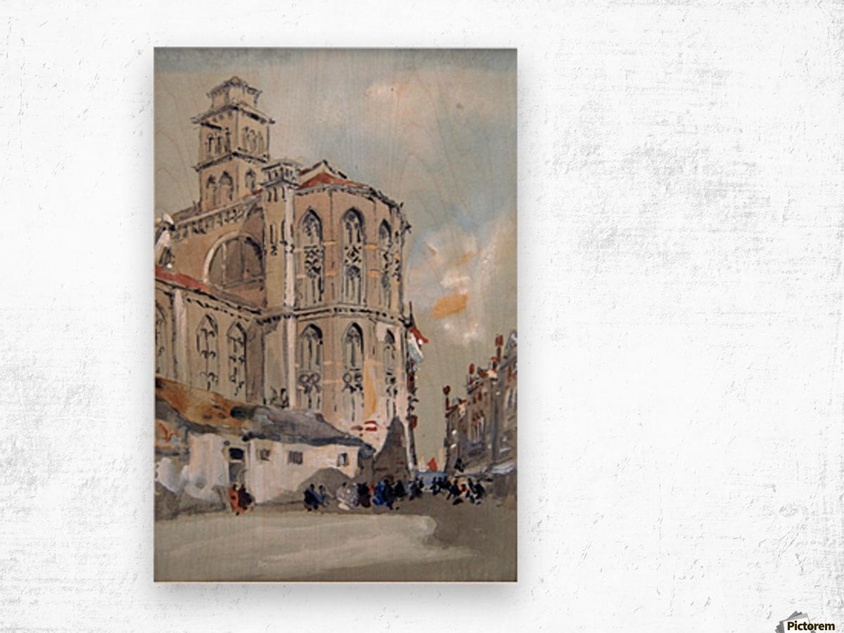 Church of Santa Maria Gloriosa de Frari, Venice Wood print