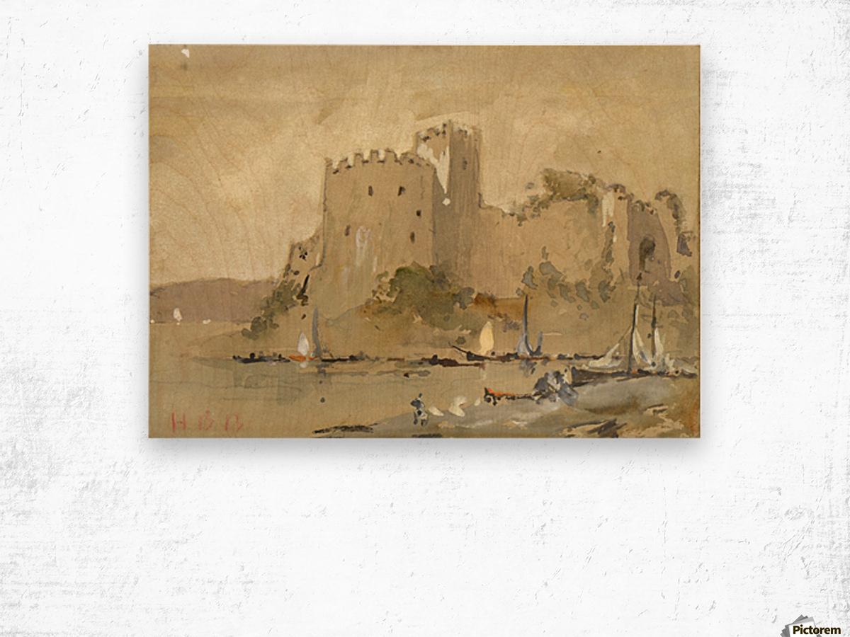 Chepstow Castle Wood print