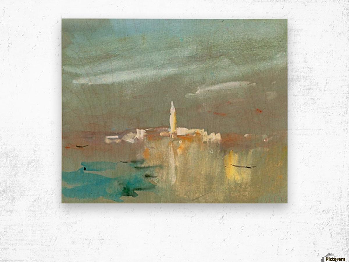 Burano, near Venice Wood print