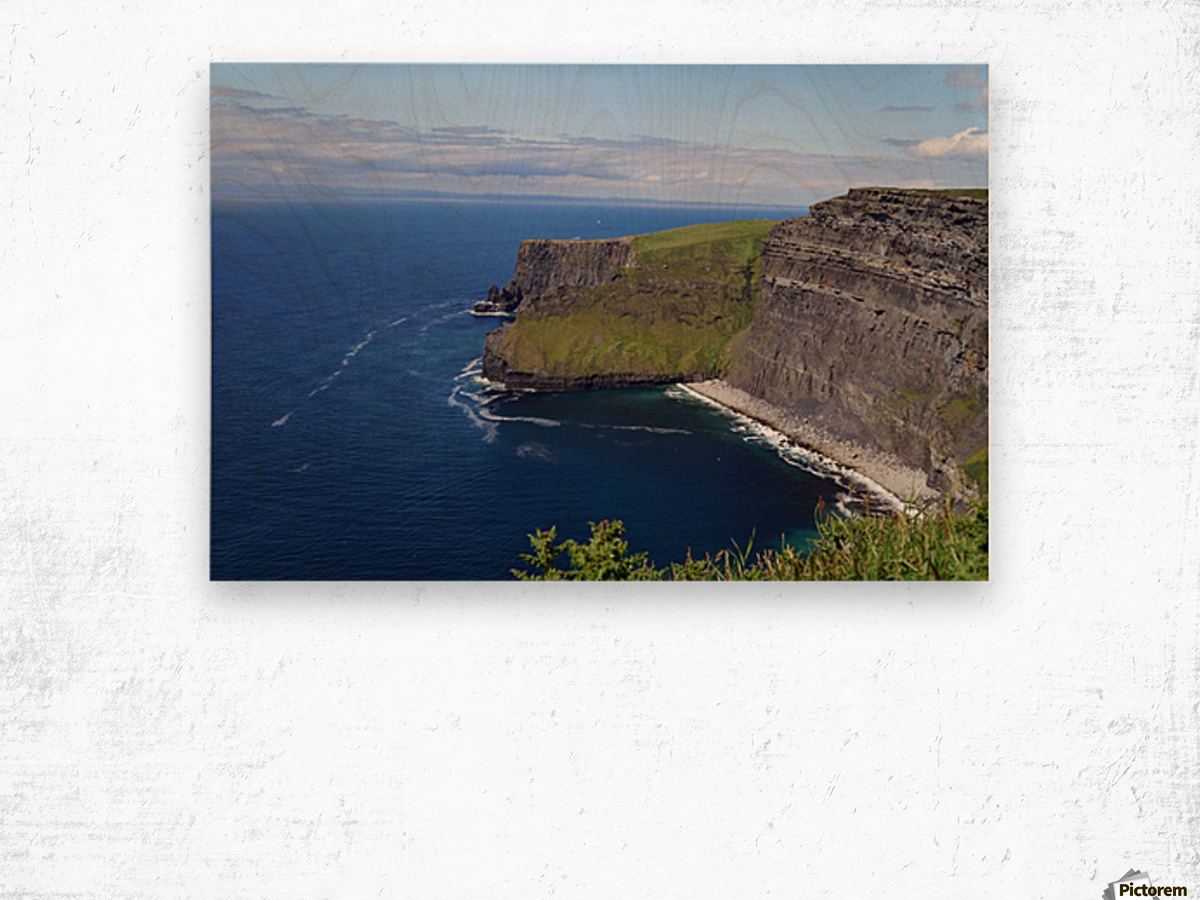 Cliffs of Moher, Ireland Wood print