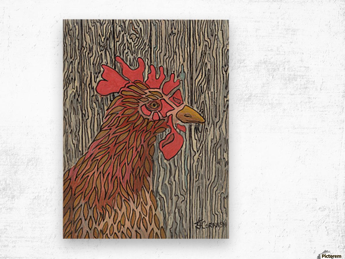 Cornish Mother Wood print