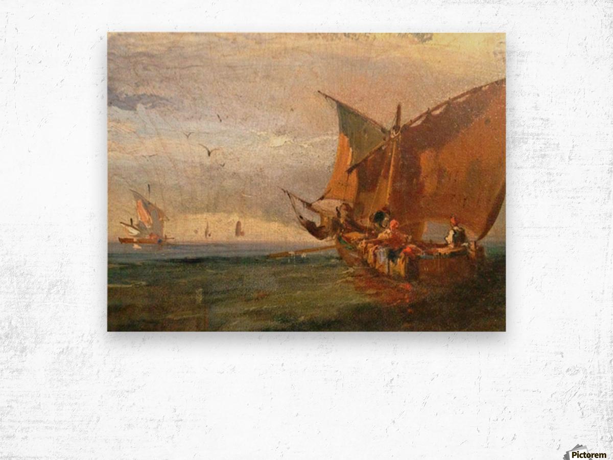 Italians Marine Wood print
