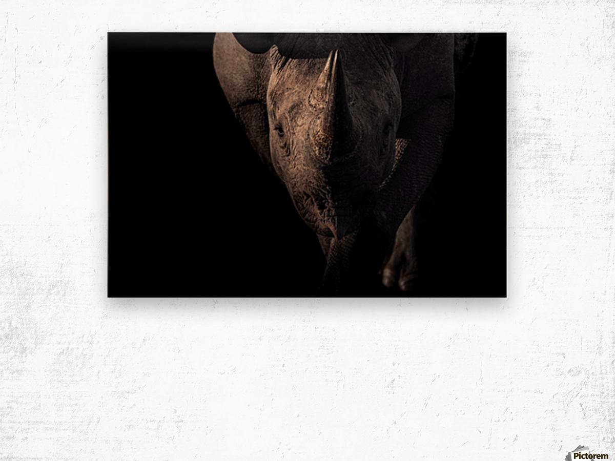BRAVE Wood print